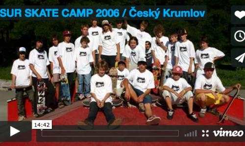 VIDEO: SUR SKATE CAMP 2006 / Český Krumlov