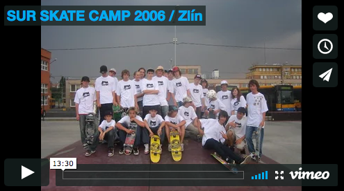 VIDEO: SUR SKATE CAMP 2006 / Zlín