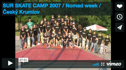 VIDEO: SUR SKATE CAMP 2007 / Český Krumlov