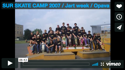 VIDEO: SUR SKATE CAMP 2007 / Opava