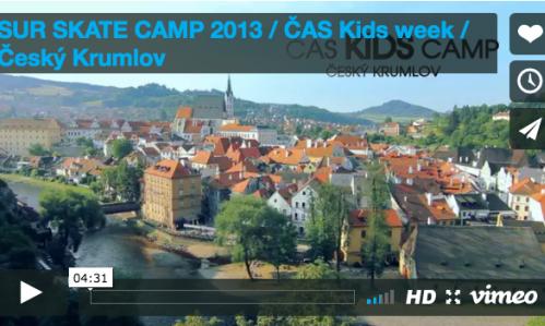 VIDEO: ČAS KIDS WEEK 2013 / ČESKÝ KRUMLOV