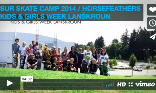 VIDEO: HORSEFEATHERS KIDS & GIRLS WEEK 2014 / LANŠKROUN